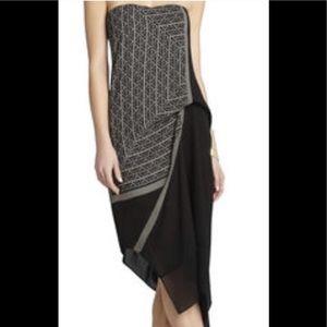 BCBG Maxazria Arieta Scarf Dress